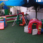 גן פילון ברעננה - החצר