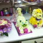 כלב ,חתול או עוגה מפרחים 399 שקל